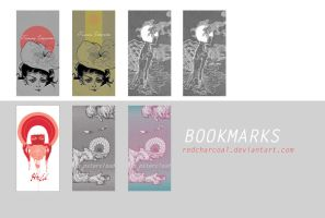 Bookmarks: Dreams by redcharcoal