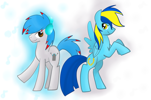 my two fav brony music artists by XxTOxiCfoX5555551xX