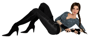 Lara Croft Casual Raider | Download! by Rockeeterl