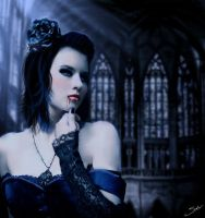 Blue Vampiress by SinInjection