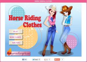 Horse Riding Clothes by willbeyou