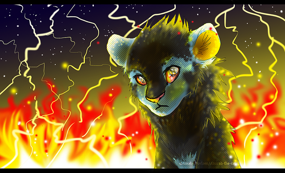 Luxray: Watch Me Burn by Art-by-Ling