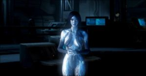 Cortana (Halo 4) by HaloMika