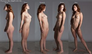 Vaunt Standing Postures by livemodelbooks