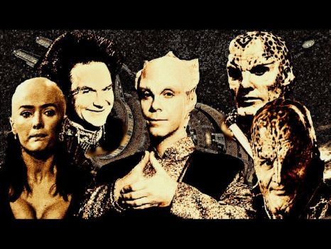 More Aliens/Babylon 5 by scifiman