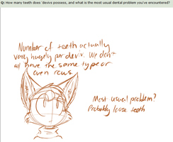 Ask the Devivs: Teeth Facts by SmilehKitteh