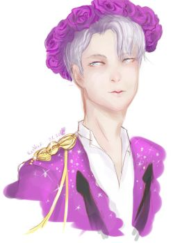 Victor Nikiforov-Welcome back- by ResVeeF