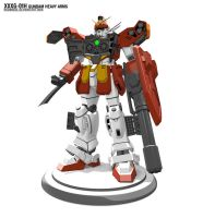 XXXG-01H Gundam Heavy Arms by radimere