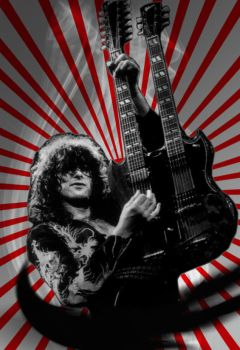 Jimmy Page by Jorge-Yorch