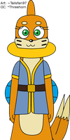 Luizel the Sub-Buizel by FluffyFerret97