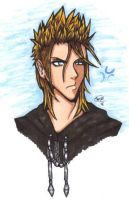 Angry Demyx by Kwah