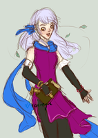 Micaiah request for javeman by Rose-Rayne