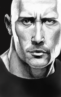 Dwayne Johnson by doodler95