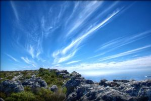 on table mountain by NicolasM