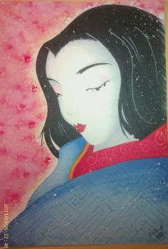 Old style Geisha attempt by Kry-Stale-Cookie