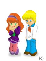 Fred and Daphne by isaqueareas