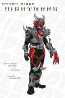 Kamen Rider Nightmare by RiderB0y