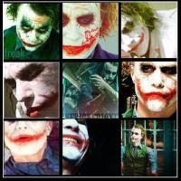 Many Faces of a Joker by RouxWolf