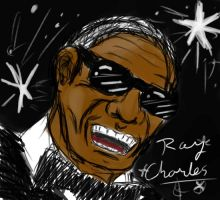 Ray Charles by EmotionCreator