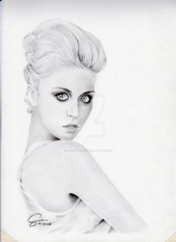 Allison Harvard (ANTM) by RusselSantos