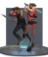Team Fortress by Rumbee