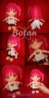chibi Morgiana plush version by Momoiro-Botan