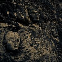 Faces Hewn in Stone by K2member