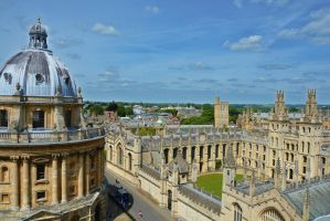 Oxford from above by Irondoors