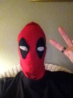 Deadpool mask by Bysthedragon