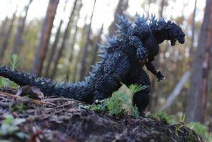 S H MonsterArts Godzilla 2000 Special Color by DRYeisleyCreations