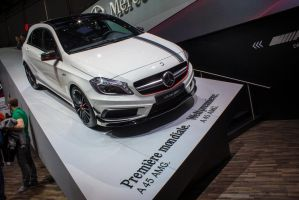 Geneva 2013: Mercedes-Benz A45 AMG by randomlurker