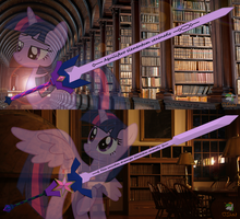 Twilight Blade - Magica by OJhat
