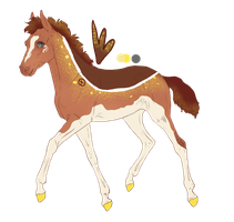 7501 Padro Foal Design for theliondemon-kaimra by Vesperity