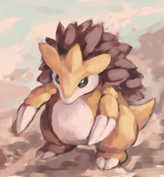 sandslash by SailorClef