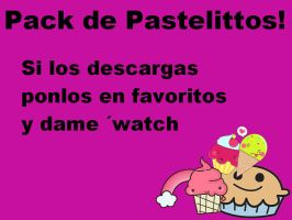 Pack de Pastelitos Png by BeliebersEditions