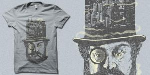 Old Man Hatten -t-shirt by biotwist