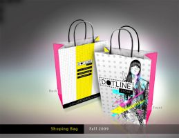 DOTLINE Shoping bags by neneholic