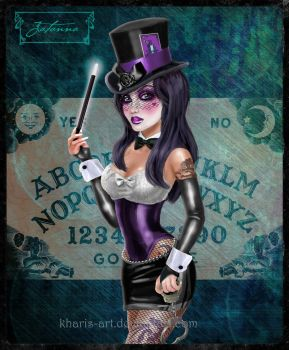 Gothic Zatanna by kharis-art