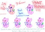 MLP P2U Foal Base [Sai/Psd/Paint Friendly!] by Furreon