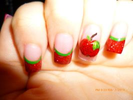 Poison apple nails by WildWonder083
