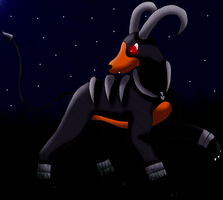 Houndoom .:Gift:. by Starlight-Sonic