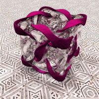Glass Loop Cube by fence-post