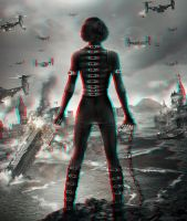 Resident Evil Retribution 3-D conversion by MVRamsey