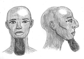 Thutmose III Reconstruction by BrandonSPilcher