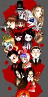 The Living Dead Dolls by bakerofish