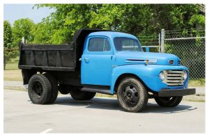 Old Ford Dump Truck by TheMan268
