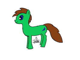 My new OC Sparky by ShadowWhooves1