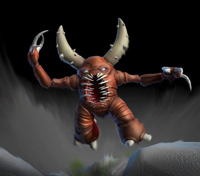 Pinsir in Zbrush by nemesis222
