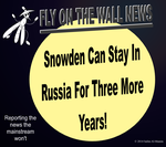 Snowden Can Stay In Russia For 3 More Years! by IAmTheUnison
