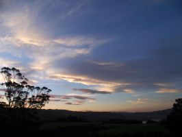 New Zealand Sunset by SquirrelGirl111